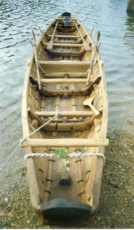 Ferriby boat reconstruction
