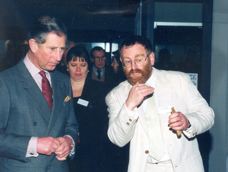 Prince Charles and Richard